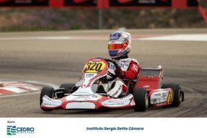Apoio ao piloto mineiro em sua trajetória nas competições internacionais.Instituto Sergio Sette Câmara
