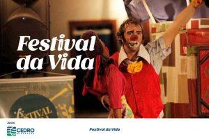 Após o período da pandemia, a arte tomará conta. A cidade de Nova Lima receberá shows de música, teatro, oficinas, palestras e exposições. Um festival que já viu 14 edições, agora em Nova Lima.Festival da Vida