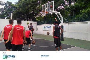 Fomentando o esporte de base, o projeto prepara jovens para o basquete de alto rendimento no pais, promovendo inclusão social de jovens vindos de comunidaddes com vulnerabilidade social. Ginástico - Basquete para Todos